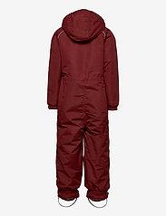 Mikk-Line - Nylon Junior Suit Solid - snowsuit - madder brown - 1