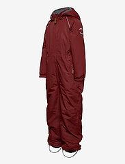 Mikk-Line - Nylon Junior Suit Solid - snowsuit - madder brown - 2