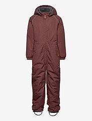 Mikk-Line - Nylon Junior Suit Solid - snowsuit - marron - 0