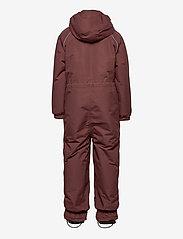 Mikk-Line - Nylon Junior Suit Solid - snowsuit - marron - 1
