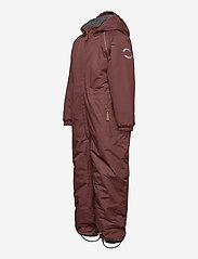 Mikk-Line - Nylon Junior Suit Solid - snowsuit - marron - 2