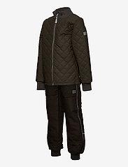 Mikk-Line - Duvet Set - No Fleece - termotøj - black olive - 2