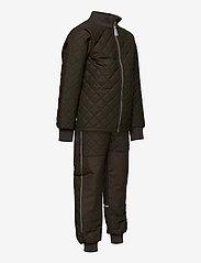 Mikk-Line - Duvet Set - No Fleece - termotøj - black olive - 3