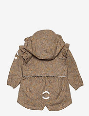 Mikk-Line - Polyester Tussor Baby Girl Jacket AOP - shell jassen - cafe au lait - 1