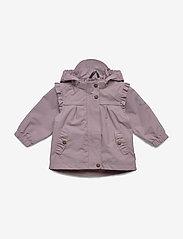 Mikk-Line - Nylon Baby Girls Jacket - shell jacket - elderberry - 0