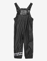 Mikk-Line - PU Rain Set w. Susp/110 - sets & suits - black - 2