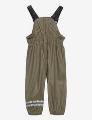 Mikk-Line - PU Rain Set w. Susp/110 - sets & suits - dusty olive - 3