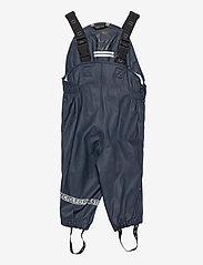 Mikk-Line - PU Rain Set Recycled W SUSP - sets & suits - blue nights - 2