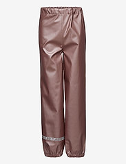Mikk-Line - PU Metalic Rain Set Rec. w. Susp/110 - sets & suits - adobe rose - 2