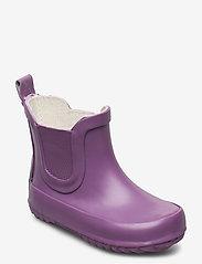 Mikk-Line - Short wellies - uforede gummistøvler - grapeade - 0