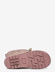Mikk-Line - Printed Wellies w. Lace - uforede gummistøvler - burlwood - 4