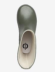 Mikk-Line - Wellies - Solid - uforede gummistøvler - dusty olive - 3