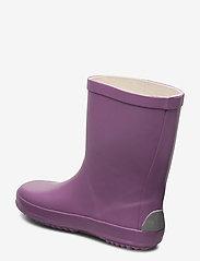 Mikk-Line - Wellies - Solid - uforede gummistøvler - grapeade - 2