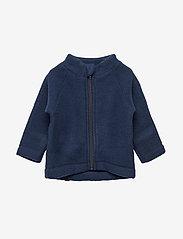 Mikk-Line - WOOL Baby jacket - uldtøj - 287/bluenights - 0