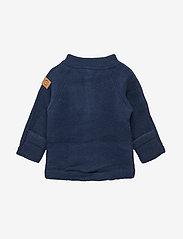 Mikk-Line - WOOL Baby jacket - uldtøj - 287/bluenights - 2