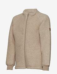 Mikk-Line - WOOL jacket - uldtøj - 429/melangeoffwhite - 2