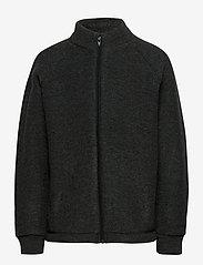 Mikk-Line - WOOL jacket - uldtøj - anthracite melange - 0