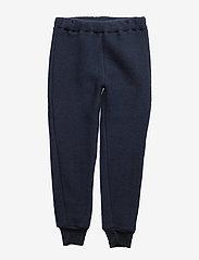 Mikk-Line - WOOL Pants - trousers - 287/bluenights - 0