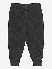 WOOL Pants - ANTHRACITE MELANGE