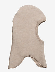 Mikk-Line - Wool Fullface - balaclava - 429/melangeoffwhite - 0