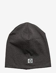 Mikk-Line - Cotton Hat - Solid - huer - 180/dark grey melange - 0