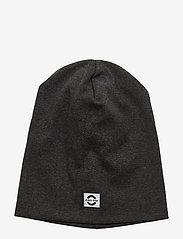 Mikk-Line - Cotton Hat - Solid - huer - dark grey melange - 0