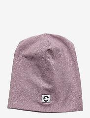 Mikk-Line - Cotton Lurex Hat - huer - elderberry - 0
