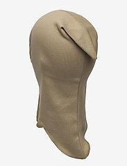 Mikk-Line - Cotton Fullface - balaclava - covert green - 1