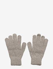 Mikk-Line - Magic gloves - Knit - vintertøj - 155/graphitegrey - 0