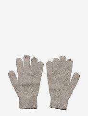 Mikk-Line - Magic gloves - Knit - vintertøj - 155/graphitegrey - 1