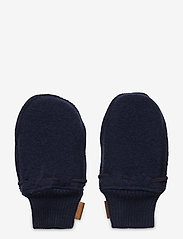 Mikk-Line - Wool Mittens - uldtøj - blue nights - 1
