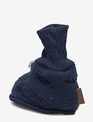 Mikk-Line - Wool Footies - schuhe - 287/bluenights - 2