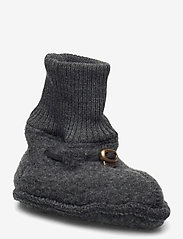 Mikk-Line - Wool Footies - hausschuhe - anthracite melange - 0