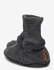 Mikk-Line - Wool Footies - hausschuhe - anthracite melange - 2