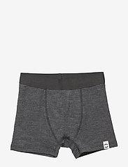 Mikk-Line - WOOL Shorts Boys - doły - lancaster grey mel - 0