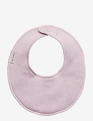 Mikk-Line - Cotton Bibs - Round - hagesmæk - lavender - 0