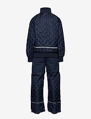 Mikk-Line - Termo set w. fleece in jacket - thermo - 286/dark marine - 1