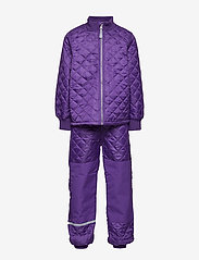 Mikk-Line - THERMO Set - No Fleece - thermo - 741/dark violet (reddish) - 0