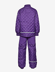 Mikk-Line - THERMO Set - No Fleece - thermo - 741/dark violet (reddish) - 4