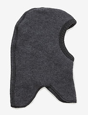 Mikk-Line - Wool fullface - balaclava - 916/melangegrey - 0