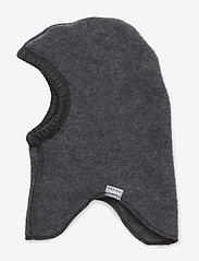 Mikk-Line - Wool fullface - balaclava - 916/melangegrey - 1