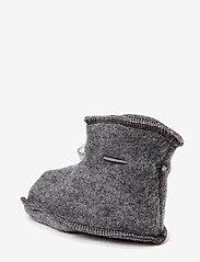 Mikk-Line - Wool baby shoe - hausschuhe - 916/175-189 m melange/grey - 1