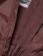 Mikk-Line - WINTER suit - snowsuit - puce brown - 6