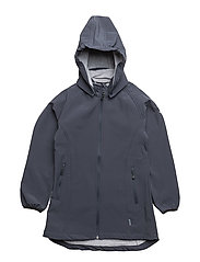 SOFT SHELL Girls coat - 287 BLUE NIGHTS