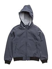 SOFT SHELL BOMBER jacket - 287 BLUE NIGHTS
