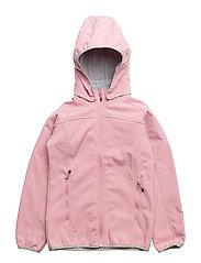 SOFT SHELL Girl jacket - 518 POLIGNAC ROSE