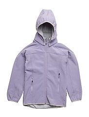 SOFT SHELL Girl jacket - 709 DAY BREAK PURPLE