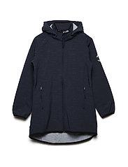 SOFT SHELL Reflex Girls coat - BLUE NIGHTS