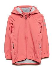 SOFTSHELL Girls Jacket - TEA ROSE