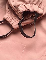 Mikk-Line - Softshell Girls Suit - softshells - burlwood - 5